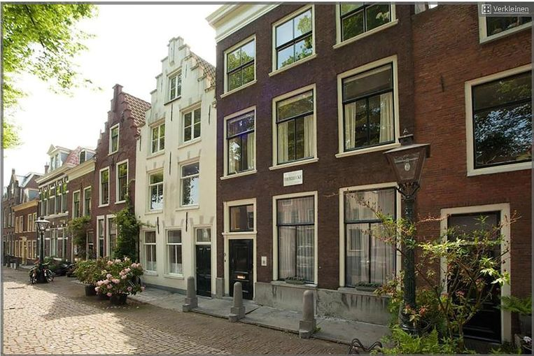 'Dat het pand van de liberale staatsman is geweest, is ook in Leiden niet algemeen bekend'. Beeld Funda