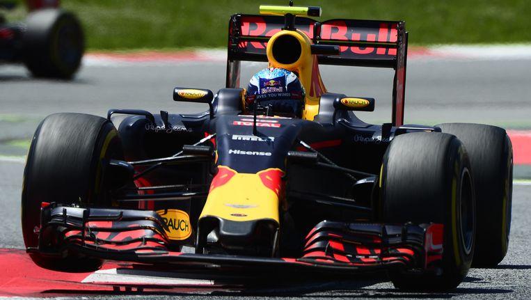 Verstappen tijdens de GP van Spanje. Beeld afp