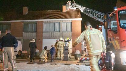 Schouwbrand doet televisietoestel vuur vatten