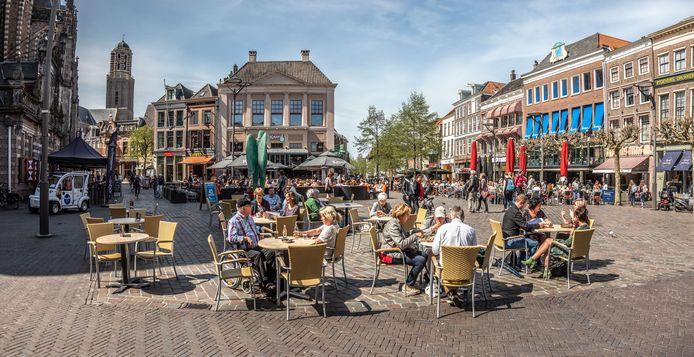 De Grote Markt in Zwolle.