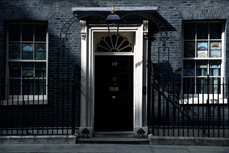 Downing Street 10 in Londen.