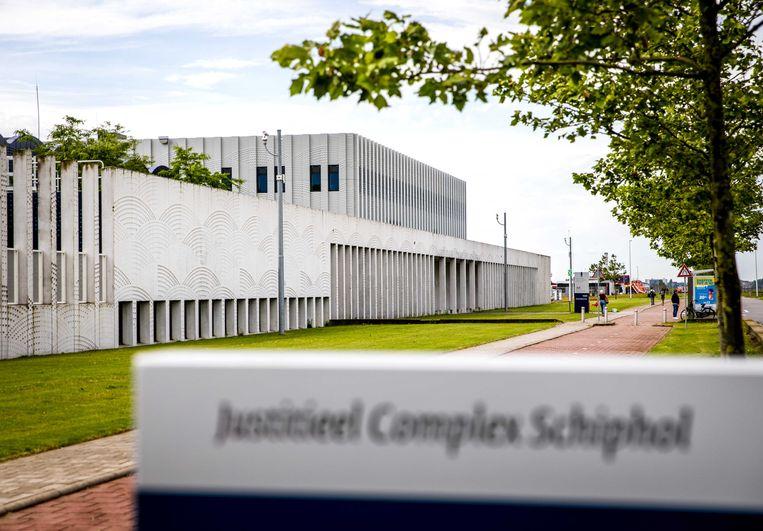 Justitieel Complex Schiphol. Beeld ANP