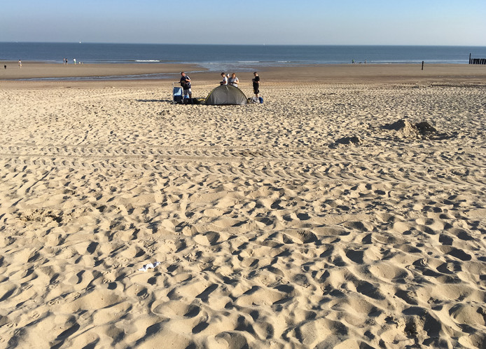 Strand Domburg, 08.45