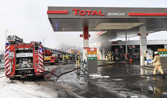Brandweerzone Zuid West Limburg kreeg de vlammen in de technische ruimte snel onder controle