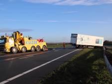A58 Bergen op Zoom richting Vlissingen weer open na ongeluk met vrachtwagen