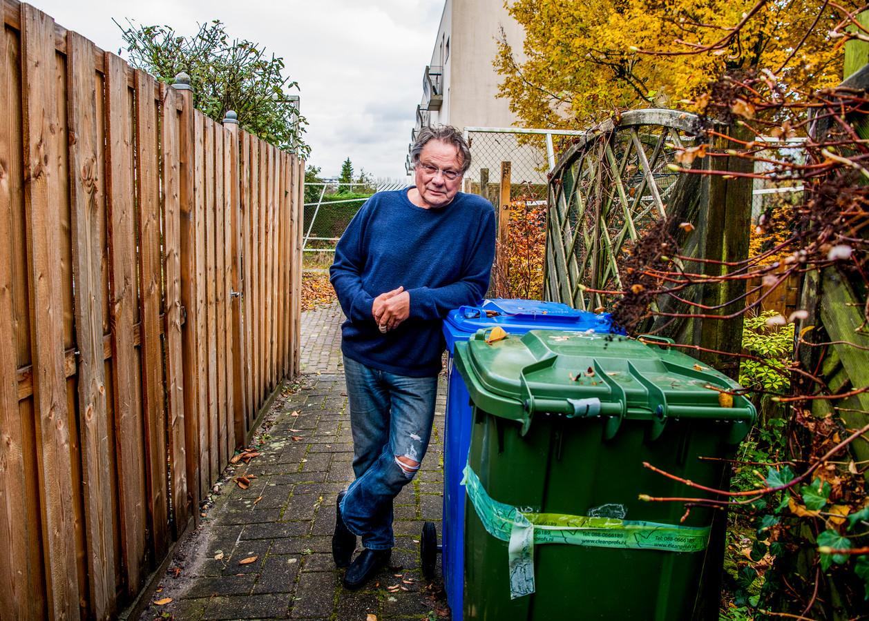 Wim van der Plas snapt niks van de nieuwe afvalregels van de gemeente.