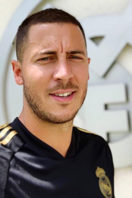 """Hazard prêt pour son premier match avec le Real: """"Je veux impressionner tout le monde"""""""