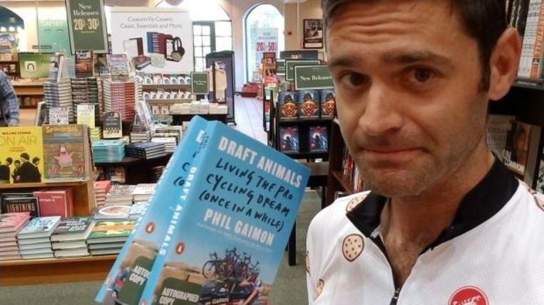 Gaimon met zijn biografie 'Draft Animals'
