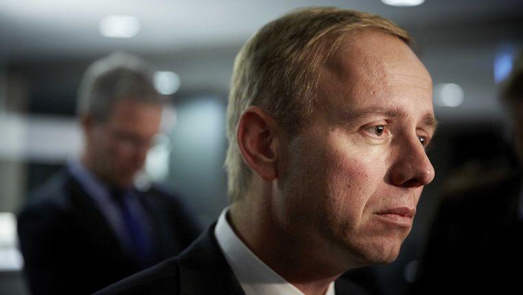 SPG-leider Kees van der Staaij. Beeld ANP