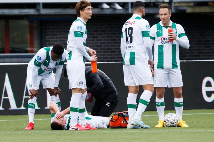 Spelers van FC Groningen.