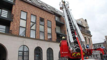 Brand aan lift zorgt voor rook in appartementsgebouw in centrum Roeselare
