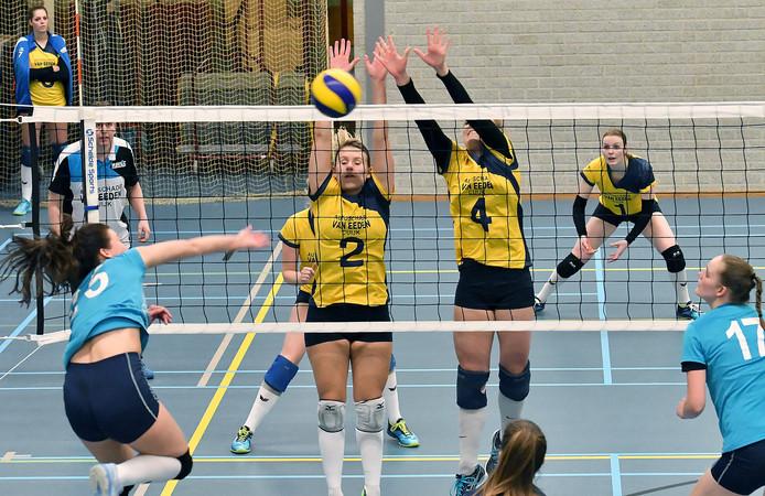 De vrouwen van Havoc tegen Tilburg 2, vorig seizoen.