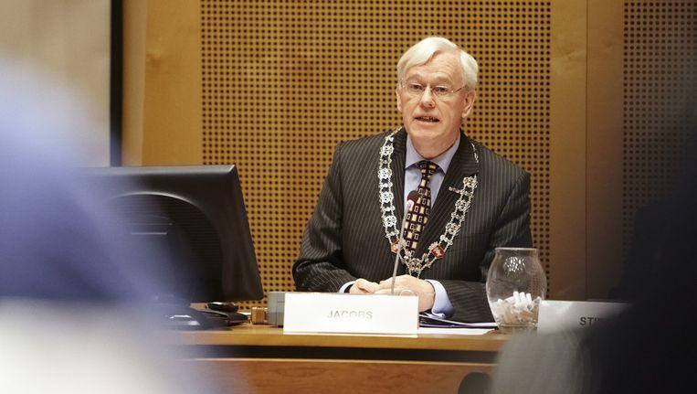 Burgemeester van Helmond, Fons Jacobs. © ANP Beeld