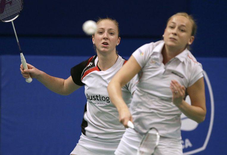 Eefje Muskens (links) en Selena Piek. Beeld null