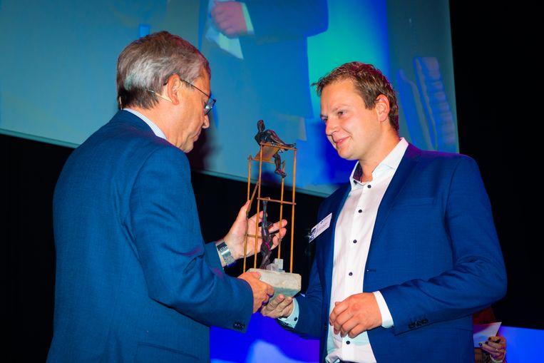 Kristof Papeleu werd verkozen tot Jonge Vlaamse Aannemer 2019.