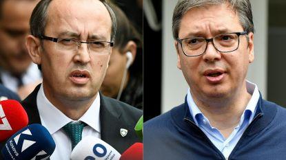 Servische president en premier van Kosovo ontmoeten elkaar donderdag in Brussel