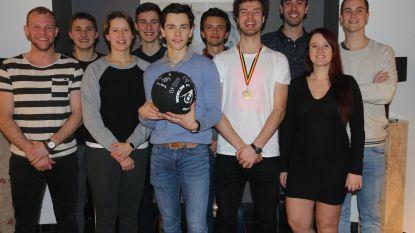 Drie BK-medailles voor squashclub Recrean