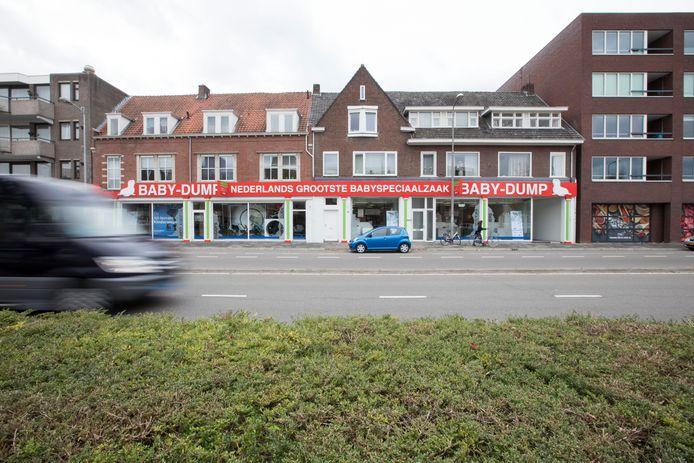 De Baby-Dumpvestiging aan de Boschdijk in Eindhoven is een van de 14 winkels die zijn overgenomen.