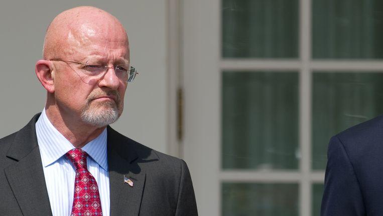 NSA-baas James Clapper. Beeld AFP