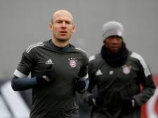 Robben terug op Bayern-training, Neuer maakt volgende week rentree