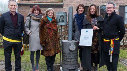 Postuum ereburgerschap en origineel monument voor dichter Marcel Pira