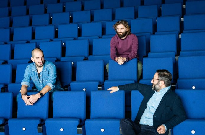 Carlo Dias, Bas Broertjes en Aydin Dehzad.