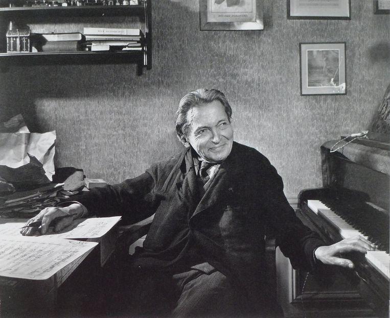 George Enescu. Beeld Yusuf Karsh