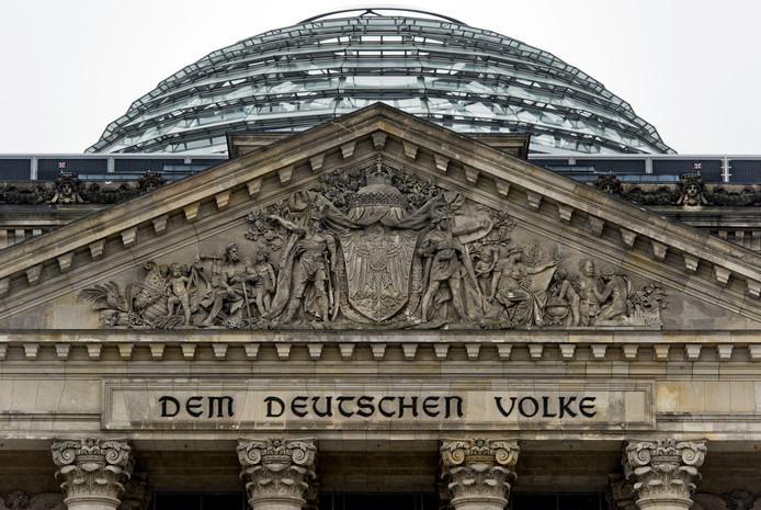 De Bondsdag in Berlijn.