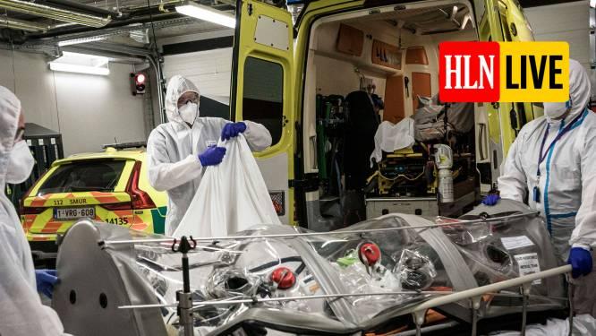 LIVE. België weer in lockdown. Gemiddeld 15.847 nieuwe infecties per dag. Artsen mogen reguliere zorg blijven aanbieden