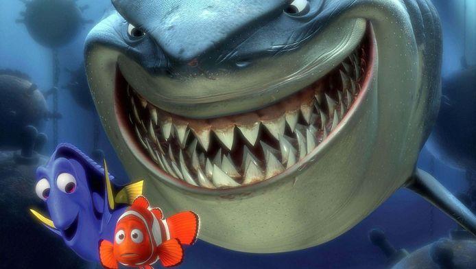 Dory en Nemo.