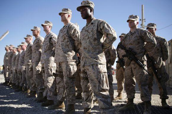 Amerikaanse militairen in Afghanistan.