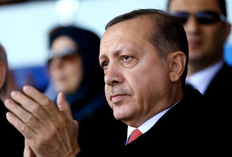 De Turkse president Erdogan Beeld anp