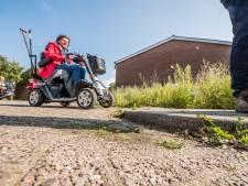 Stoepen lopen te steil af: het is wachten op ongelukken in De Hoeve