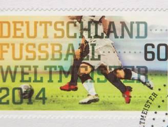 Duitsland maakte al voor finale een postzegel over WK-winst