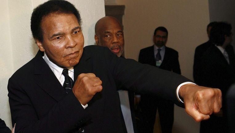 Muhammad Ali Beeld anp