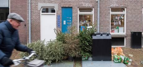 Een kliekje van kerst: de zwerfkerstboom