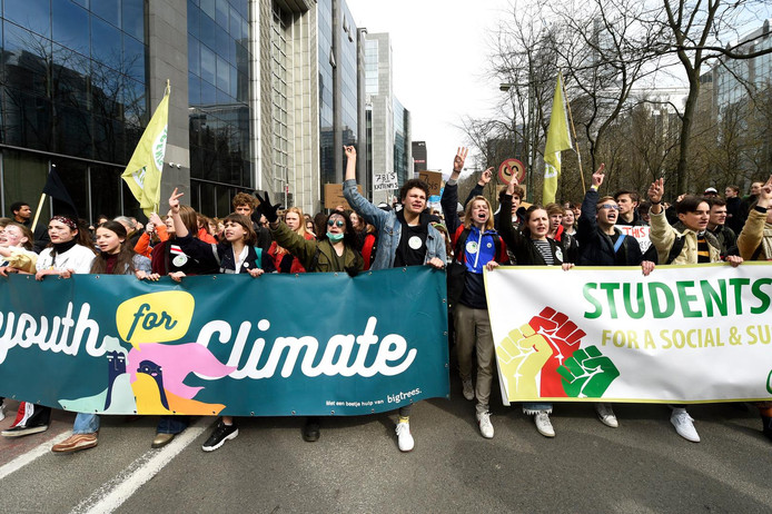 Youth for Climate: manifestation à Bruxelles le 26 mars 2019