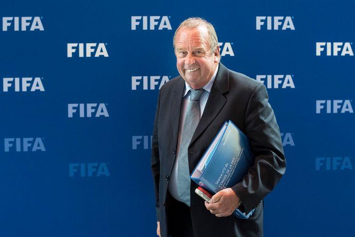 Voorzitter Michel D'Hooghe van de medische commissie van de FIFA.