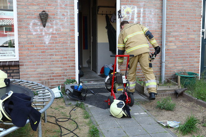 Keukenbrand in Oss.
