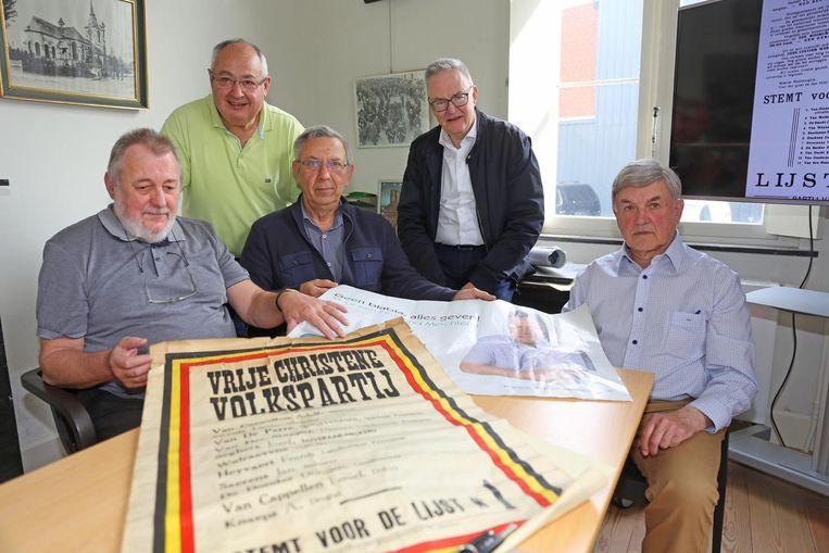 De leden van Soetendaelle hebben zelf ook al flink wat materiaal verzameld.
