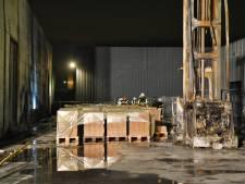 Derde brand in paar dagen bij stilgelegde aanmaakblokjesfabrikant: pallet vliegt spontaan in brand