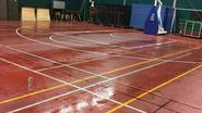 Basketclub moet uitwijken door natte vloer