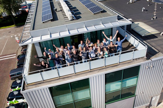 Het team van JEM-id uit Honselersdijk.