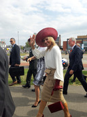 Koningin Máxima in Terneuzen voor de herdenking Slag om de Schelde.