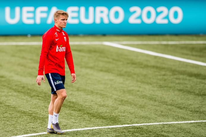 Martin Ødegaard kiest voor Real Sociedad.