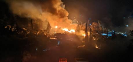 Weer brand in Grieks vluchtelingenkamp op Samos