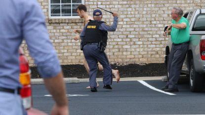 18-jarige Amerikaan pleegt drie moorden en staat naakt oog in oog met politie
