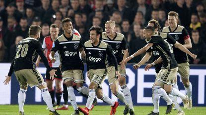 FT buitenland. Ajax revancheert zich na pandoering en bereikt bekerfinale -  Opmerkelijke tweet Chelsea gaat viraal - Denayer scoort voor Lyon