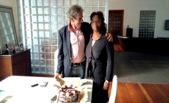 Tob Cohen en zijn echtgenote in betere tijden.