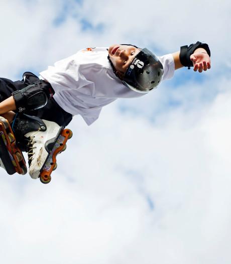 Nieuwe skatebaan aan de Meerkoet in 's-Gravenzande vrijdag geopend